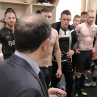 Martin O'Neill visited the Dundalk dressing room to hail their Champions League victory