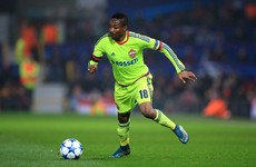 New Leicester signing Ahmed Musa conjured this outrageous goal against Barcelona tonight