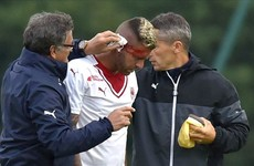 Menez suffers gruesome ear injury in Bordeaux debut