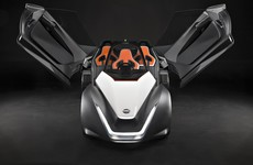 Nissan BladeGlider high-performance electric vehicle debuts in Rio