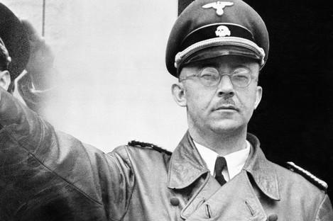 Heinrich Himmler was head of the Nazi SS.
