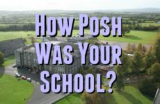 How Posh Was Your School?