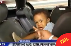 A toddler threw a massive tantrum live on the news and it was just brilliant