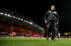 'There needs to be an emphasis on getting people back into Thomond Park' -- Anthony Foley