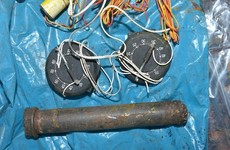 """Police find weapons stash with some items """"ready to use"""""""