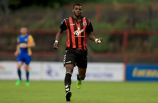 Akinade has a hand in both goals as Bohs earn much-needed win over Harps