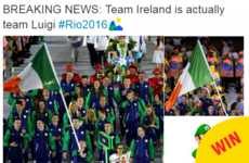 People are obsessed with Team Ireland's 'Luigi' inspired Olympic uniforms