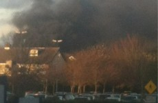 Large fire reported in Santry