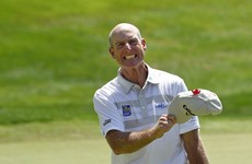 Jim Furyk made history today on the PGA Tour