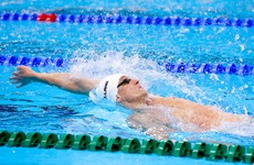 Shane Ryan backstrokes his way into a swimming semi-final for Ireland