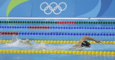 Katie Ledecky won 400m freestyle gold tonight - and nobody else was even in the picture