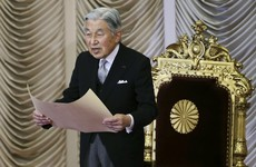Japan's Emperor Akihito hints that he wishes to abdicate due to failing health