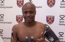 West Ham smash club transfer record to sign Swansea striker Ayew