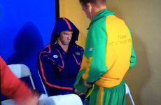 Michael Phelps' evil game-face has become a massive meme
