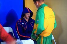 Michael Phelps' evil game-face has become a massive meme