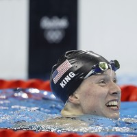Doping war of words continues as King beats tainted Russian swimmer to gold