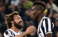 'There was a disbelief that Man United had let this player go' — Pirlo on Pogba