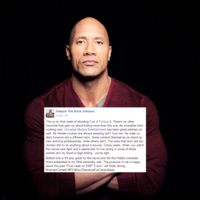 The Rock is really angry at his Fast & Furious 8 male co-stars... It's The Dredge
