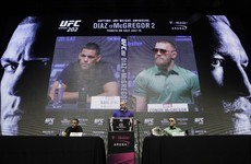 Watch: Nate Diaz and Conor McGregor at the UFC 202 press conference
