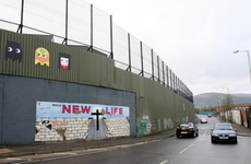 The (actual) walls dividing the North's Catholics and Protestants are coming down