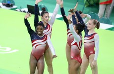 Teenage prodigy Simone Biles leads US to gold