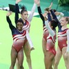 Teenage prodigy Simone Biles leads US to gold