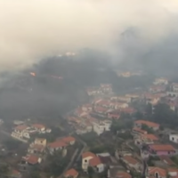 Three people killed and thousands evacuated from homes as fire engulfs small tourist island of Madeira