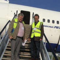 The man who brought a Boeing 767 to a Sligo glamping site is now moving a train from London