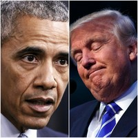 """Hillary accuses Trump of """"crossing the line"""", so Trump accuses Obama of """"founding Isis"""""""