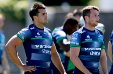 Kelleher wears 15 for Connacht as O'Brien selected in second row
