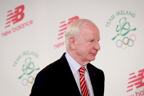 Hickey has been head of the Olympic Council of Ireland for 28 years.
