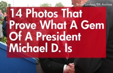 14 photos that prove what a gem of a President Michael D is