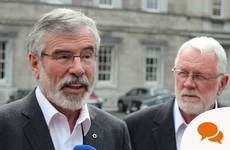 'National unity is in the national interest': Gerry Adams argues it is time for a united Ireland