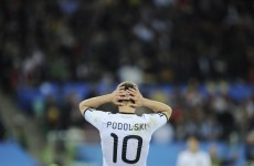 German star Podolski unhurt in car crash