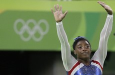 US teenage sensation Biles keeps up bid for a record five women's gymnastics gold