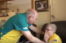 An Olympian's grandparents had the most heartwarming reaction to his gold win