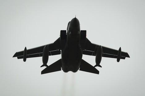 RAF Tornado jet