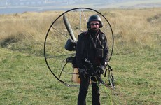 One man's dream project to fly from Ireland to Africa by lawnmower gets under way this week