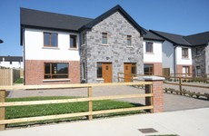 Six striking semi-detached homes are available in this estate in Louth