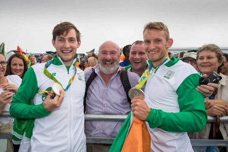 The O'Donovan's can expect a special welcome home when they return to Skibbereen.