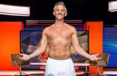 Gary Lineker kept his promise and stripped down on Match of the Day tonight