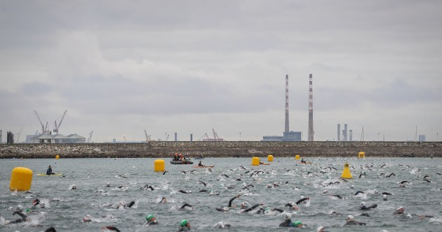 Survival of the fittest! Over 2,000 athletes put their body on the line for Ironman Dublin today