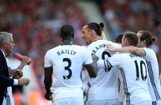 Ibrahimovic scores on Premier League debut to give Mourinho perfect start
