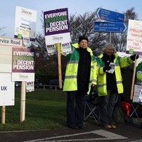 Two million staff on strike, in UK's biggest action since 1979