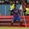 This classy Luis Suarez goal was the highlight of Barcelona's Super Cup win tonight