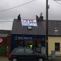 Students arrested after occupying Fine Gael TD's constituency office