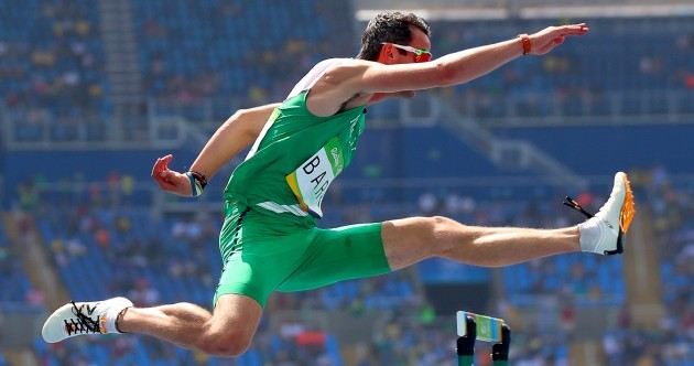 Thomas Barr puts up season's best time as he qualifies for 400m hurdle semi-final