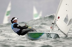 Annalise Murphy's medal race postponed after temperamental wind plays havoc in Rio