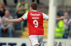 Sligo snap up Pat's ace Danny North