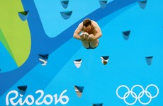 Diver Oliver Dingley advances to semi-final of men's 3m springboard
